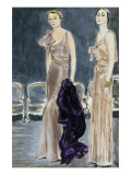 "Vogue - January 1933 Premium Giclee Print by Carl ""Eric"" Erickson"