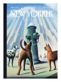 The New Yorker Cover - June 27, 2005 Regular Giclee Print by Eric Drooker