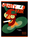 Vanity Fair Cover - July 1930 Regular Giclee Print by Unknown Depero