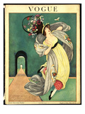 Vogue Cover - August 1918 Premium Giclee Print by George Wolfe Plank