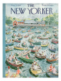 The New Yorker Cover - June 23, 1956 Premium Giclee Print by Garrett Price