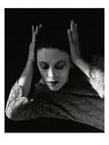Vanity Fair - December 1931 Regular Photographic Print by Imogen Cunningham