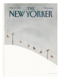 The New Yorker Cover - February 27, 1984 Premium Giclee Print by Abel Quezada