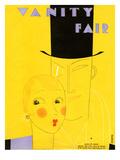 Vanity Fair Cover - March 1929 Regular Giclee Print by Eduardo Garcia Benito