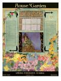 House & Garden Cover - May 1918 Regular Giclee Print by Helen Dryden