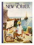 The New Yorker Cover - August 2, 1947 Premium Giclee Print by Garrett Price