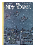 The New Yorker Cover - December 27, 1958 Premium Giclee Print by William Steig
