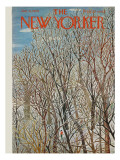 The New Yorker Cover - January 31, 1959 Premium Giclee Print by Ilonka Karasz