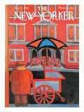 The New Yorker Cover - November 21, 1964 Premium Giclee Print by Robert Kraus