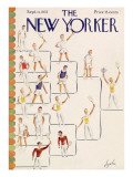 The New Yorker Cover - September 11, 1937 Premium Giclee Print by Constantin Alajalov