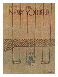 The New Yorker Cover - September 26, 1977 Premium Giclee Print by Robert Tallon