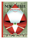 The New Yorker Cover - December 17, 2007 Premium Giclee Print by Bob Staake