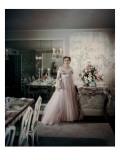 House & Garden - October 1950 Premium Photographic Print by John Rawlings