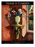House & Garden Cover - April 1926 Regular Giclee Print by Bradley Walker Tomlin