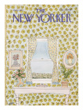 The New Yorker Cover - August 1, 1977 Regular Giclee Print by Robert Weber
