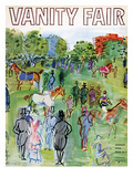 Vanity Fair Cover - August 1934 Giclee Print by Raoul Dufy