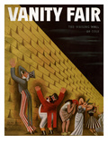 Vanity Fair Cover - June 1933 Premium Giclee Print by Miguel Covarrubias