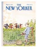 The New Yorker Cover - September 21, 1987 Premium Giclee Print by James Stevenson