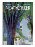 The New Yorker Cover - August 30, 1969 Premium Giclee Print by Arthur Getz