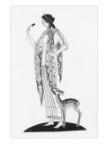 Vogue - February 1921 Regular Giclee Print by Claire Avery