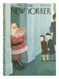 The New Yorker Cover - December 14, 1946 Premium Giclee Print by William Cotton