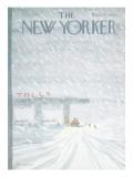 The New Yorker Cover - February 7, 1977 Regular Giclee Print by James Stevenson