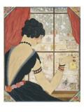 Vogue - December 1920 Regular Giclee Print by Helen Dryden
