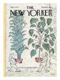 The New Yorker Cover - May 5, 1975 Regular Giclee Print by Edward Koren