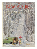 The New Yorker Cover - February 5, 1949 Premium Giclee Print by Ilonka Karasz