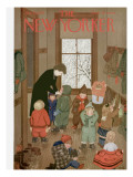 The New Yorker Cover - January 21, 1950 Regular Giclee Print by Edna Eicke