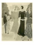 Vogue - June 1930 Regular Giclee Print by Barbara E. Schwinn