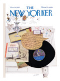 The New Yorker Cover - March 20, 1965 Regular Giclee Print by Saul Steinberg