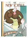 The New Yorker Cover - January 3, 1931 Premium Giclee Print by Rea Irvin