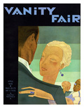 Vanity Fair Cover - April 1929 Regular Giclee Print by Jean Pagès