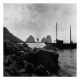 Vogue - September 1947 - Capri Regular Photographic Print by Clifford Coffin