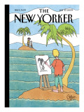 The New Yorker Cover - July 27, 2009 Regular Giclee Print by Gahan Wilson