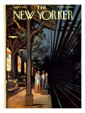 The New Yorker Cover - September 1, 1962 Regular Giclee Print by Arthur Getz