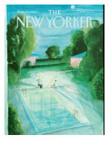 The New Yorker Cover - August 21, 1989 Premium Giclee Print by Jean-Jacques Semp&#233;
