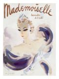Mademoiselle Cover - November 1936 Regular Giclee Print by Helen Jameson Hall