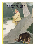 The New Yorker Cover - June 21, 1947 Premium Giclee Print by Rea Irvin