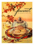 Gourmet Cover - September 1953 Regular Giclee Print by Henry Stahlhut