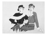 Vogue - September 1932 Regular Giclee Print by Douglas Pollard