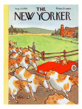 The New Yorker Cover - August 26, 1961 Regular Giclee Print by William Steig