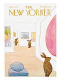The New Yorker Cover - April 1, 1972 Regular Giclee Print by James Stevenson