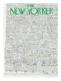 The New Yorker Cover - April 21, 1973 Regular Giclee Print by Raymond Davidson