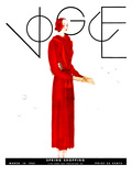 Vogue Cover - March 1931 Regular Giclee Print by Georges Lepape