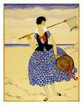 Vogue - July 1921 Regular Giclee Print by Helen Dryden