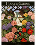 House & Garden Cover - October 1923 Regular Giclee Print by Ethel Franklin Betts Baines