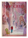 The New Yorker Cover - August 21, 1971 Regular Giclee Print by James Stevenson