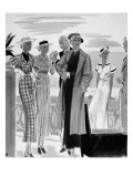 Vogue - May 1934 Regular Giclee Print by William Bolin
